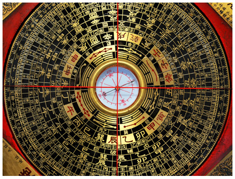 Compass for Feng Shui Consultations